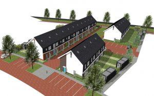 Zeer energiezuinige E+ woningen